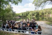 Lake Herd wedding ceremony