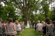 Waterloo village wedding ceremony