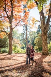 ringwood nj botanical gardens engagement