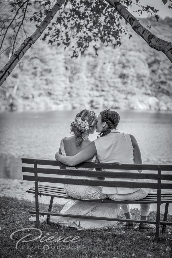lake hird wedding